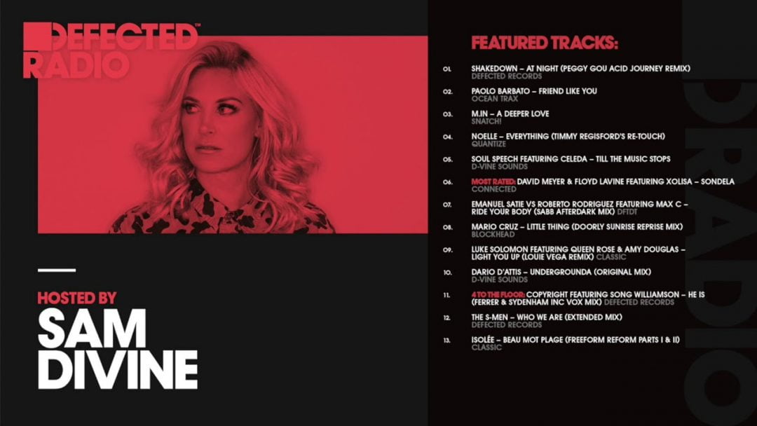 Defected Radio Show presented by Sam Divine – 29.06.18 ...